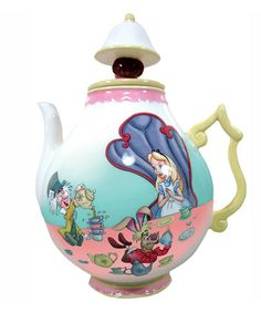 Take a look at this Alice in Wonderland 35-Oz. Teapot by Westland Giftware on #zulily today!