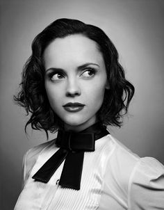 Christina Ricci. Portrait or Business Headshot.