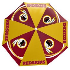 BSS - Washington Redskins NFL Beach Umbrella (6 Ft Diameter) . $28.86. BSS - Washington Redskins NFL Beach Umbrella (6 Ft Diameter) Stake down your place in the shade and make a nice cool spot on hot sandy beaches with our generously oversized NFL beach umbrellas? When opened; they measure 6? in diameter; and the large team inspired display may even spark a conversation or two. Comes with a two-section steel tube. Spot clean only. Availability: Usually ships within 5-...