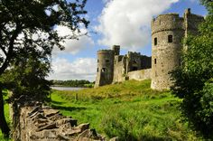 Carew Castle, Pembrokeshire, Wales by Brian Finney on Flickr.