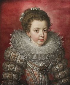 Frans Pourbus the Younger (1569-1622), Portrait of Elisabeth of France, later Isabella, queen of Spain, oil on canvas, Rubens House Museum, Antwerp, Belgium