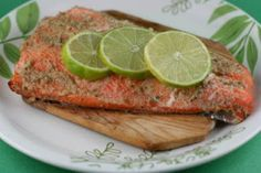 A Year of Slow Cooking: Cedar Planked Salmon Cooked in the CrockPot