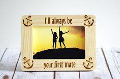 Best Friend Frame Wedding Frame Engagement by CustomWoodWonders