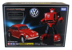 Transformers Masterpiece MP-21R Red Bumblebee (Bumble)