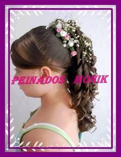 Resultado de imagen para peinados monik Manicure, Hair Styles, Fashion, Olinda, Stuff Stuff, Overnight Hairstyles, Types Of Hairstyles, Plaits Hairstyles, Child Hairstyles