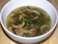 asian mushrooms - shitake soup