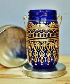 Sundown Mason Lantern - Handmade Moroccan Nights Collection - Dot & Bo