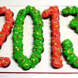#cupcake #cake #2013 #decorated #letters #numbers #colorful #foodart #art #greek #food #dessert #nice #yummy Greek Christmas, Xmas, Food Art, Decorated Letters, Cupcake, Colorful, Numbers, Red, Gifts