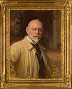 Bruno Hoppe Selfportrait  (Pharyah) In His Time, Portrait, Artist, Painting, Headshot Photography, Artists, Painting Art, Portrait Paintings, Paintings