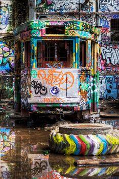 33 more breathtaking and incredible photos of abandoned places - Blog of Francesco Mugnai - Abandoned train
