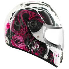 2013 SHARK S600 SEASON LADIES WOMENS MOTORCYCLE FULL FACE HELMET GHOSTBIKES Enlarged Preview 5