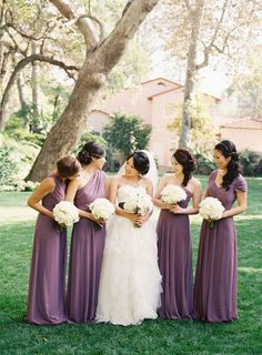 15 Beautiful Bridesmaids Dresses for Fall - Style Me Pretty