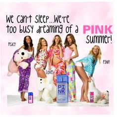 Dreaming of a PINK summer!, created by iconnfashions on Polyvore