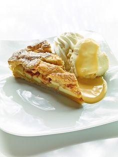 Eierlikör Rezept: Apple Pie mit Vanilleeis und VERPOORTEN ORIGINAL - Backrezepte - VERPOORTEN