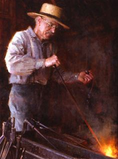 Morgan Weistling - Blacksmith
