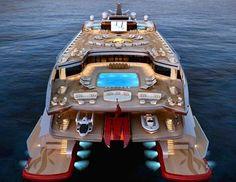 Ultra Modern Super Yacht | Follow @lux.films