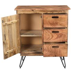 Cast Iron, It Cast, Hairpin Legs, Entertaining, It Is Finished, Wood, Furniture, Cabinets, Mango