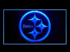Pittsburgh Steelers Football Display Shop Neon Light Sign