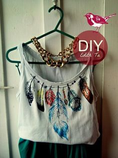 MY D.I.Y. | T- shirt idea
