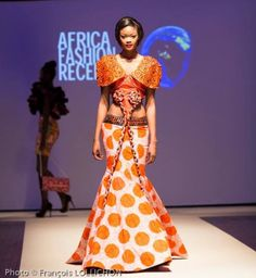 Paris went aglow when Legendary Gold Limited and the World Fashion Organization presented 16 leading African designers from 16 African countries at the African African Inspired Fashion, African Print Fashion, Africa Fashion, African Prints, African Dresses For Women, African Women, African Art, Coast Fashion, Ghanaian Fashion
