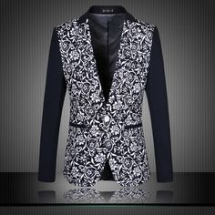 Cheap dress basic, Buy Quality dress western wear directly from China wear wet look leggings Suppliers: men floral blazers 2015 korean male singer costume stage costumes male singers jacket clothes clothing dress mens stage wear