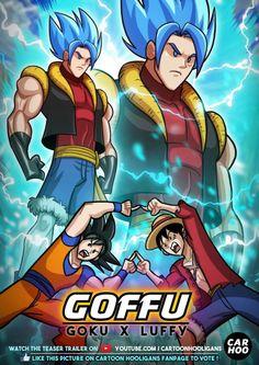 Goffu Goku-Luffy