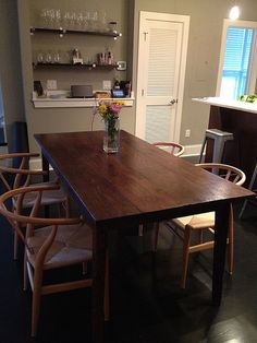 Beautiful Dining Table Made From Reclaimed Wood By Landrum Tables Charleston SC Landrumtables