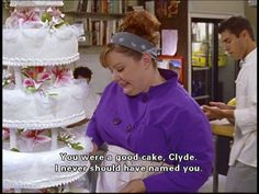 Lorelei's wedding cake from Gilmore Girls. I love this cake. If I ever get married this will be my cake.
