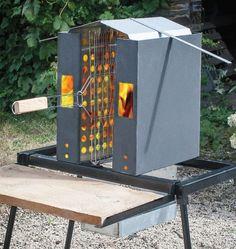 Autre produit : Barbecue vertical ecologique | Les Ateliers de l'Odon