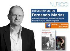 Encuentro Digital con Fernando Marías en #Nubico Deja tus perguntas en el siguiente enlace y el autor responderá el próximo 12 de mayo en el siguiente link: https://www.facebook.com/NubicoEbook/app_198826126804423