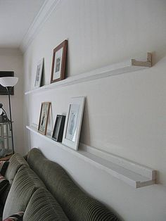 Side of Picture Shelves