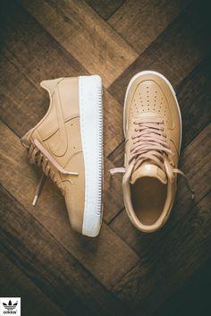 3e1a055244736 Nike Air Force 1  Tan  (via pangeaproductions) Mais
