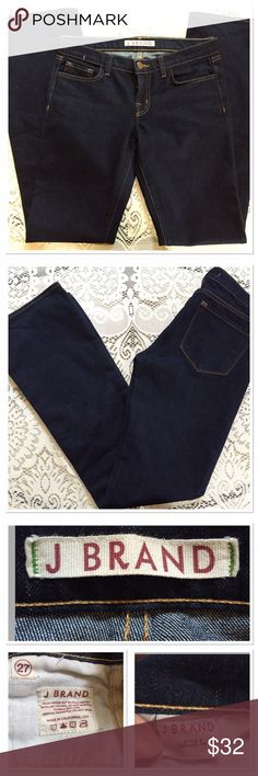 J Brand Jeans NWOT Dark blue classic jeans.  Inseam measures 33.5 inches.  New with out tags. J Brand Jeans Boot Cut