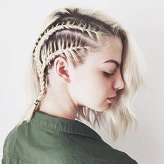 braids for short hair