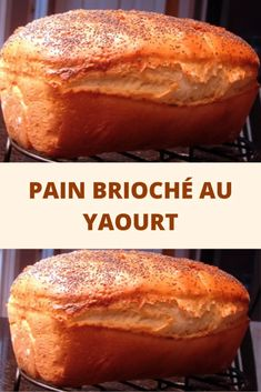 Brioche bread with yogurt - Page 2 - Recipes From The World - - Cooking Chef, Cooking Time, Cooking Recipes, Brioche Bread, Naan Recipe, Coco, Sweet Recipes, Banana Bread, French Toast