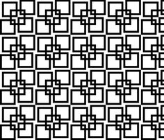 Wobble Lattice Pattern - Black On White fabric by ophelia on Spoonflower - custom fabric