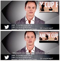 J. Toews clearly in denial.