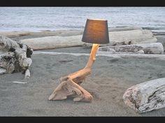 Driftwood Lamp- Westcoast Art **Teaser video** - Driftwood 4 Us Driftwood Lamp, Art For Sale, Art Images, Teaser, West Coast, Art Projects, Sculptures, Fine Art, Awesome
