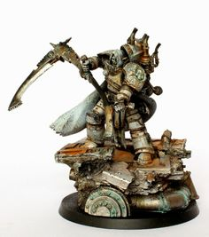 40k - Mortarion, the Reaper Primarch of the Death Guard by ThirdEyeNuke