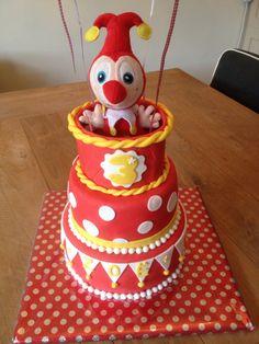 Jokie taart Cake Smash, Party Cakes, Party Time, Cake Decorating, Birthday Cake, Cupcakes, Baking, Holland, Desserts