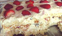 Aprenda a preparar a receita de Pavê de leite ninho e morango
