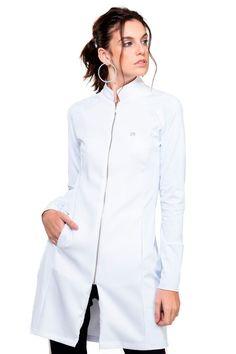 Beauty Salon Uniform Ideas, Medical Uniforms, Medical Scrubs, My Style, Coat, Outfits, Clothes, Photoshoot Ideas, Dental