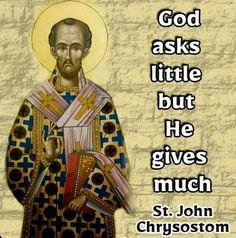 John Chrysostom, Mona Lisa, God, Artwork, Dios, Work Of Art, Auguste Rodin Artwork, Praise God, The Lord