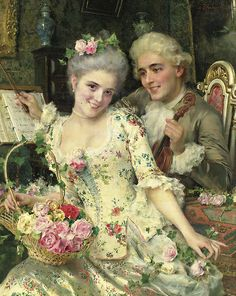 Vintage couple - Federico Andreotti
