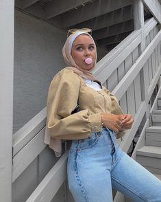 Modest Fashion Hijab, Modern Hijab Fashion, Muslim Women Fashion, Street Hijab Fashion, Modesty Fashion, Hijab Fashion Inspiration, Mode Inspiration, Hijab Casual, Hijab Chic