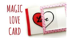 Magic Card di San Valentino!  (San Valentino/Scrapbooking/Biglietino) Ar...