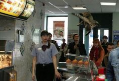 This is what happens while ordering at a McDonald's in Russia