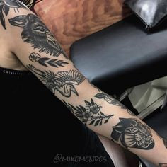 Ideas tattoo traditional sleeve people for 2019 Pretty Tattoos, Cute Tattoos, Beautiful Tattoos, Black Tattoos, Body Art Tattoos, New Tattoos, Girl Tattoos, Sleeve Tattoos, Tattoos For Guys