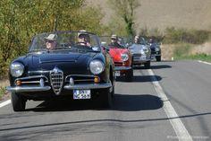 Alfa Romeo Spider 2600 Giulia & Giulietta in der Toskana | Nostalgic Oldtimerreisen