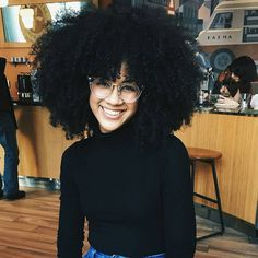 Big Afro hairstyles are basically the bigger and greater version of the Afro hairstyles. Afro which is sometimes shortened as 'FRO, is a hairstyle worn naturally outward by The African American black people. Pelo Natural, Natural Hair Tips, Natural Hair Styles, Thick Natural Hair, Big Hair Dont Care, Hair Care, Pelo Afro, Natural Hair Inspiration, Afro Hairstyles